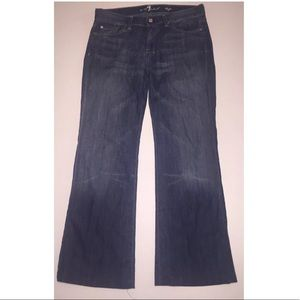 7 For All Mankind Dojo Wide Leg Jeans size 30 x 30